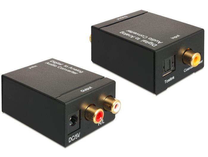 Delock Audio konvertor Digitální signál > Analogový signál