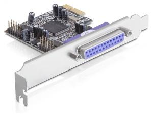 Delock adaptér PCI Express x1 2xsér. +1xpar. port, 16C550 UARTkompat.