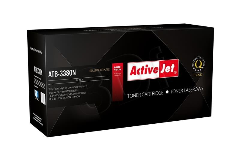 ActiveJet Toner Brother TN-3380 Supreme NEW 100% - 8000 stran ATB-3380N