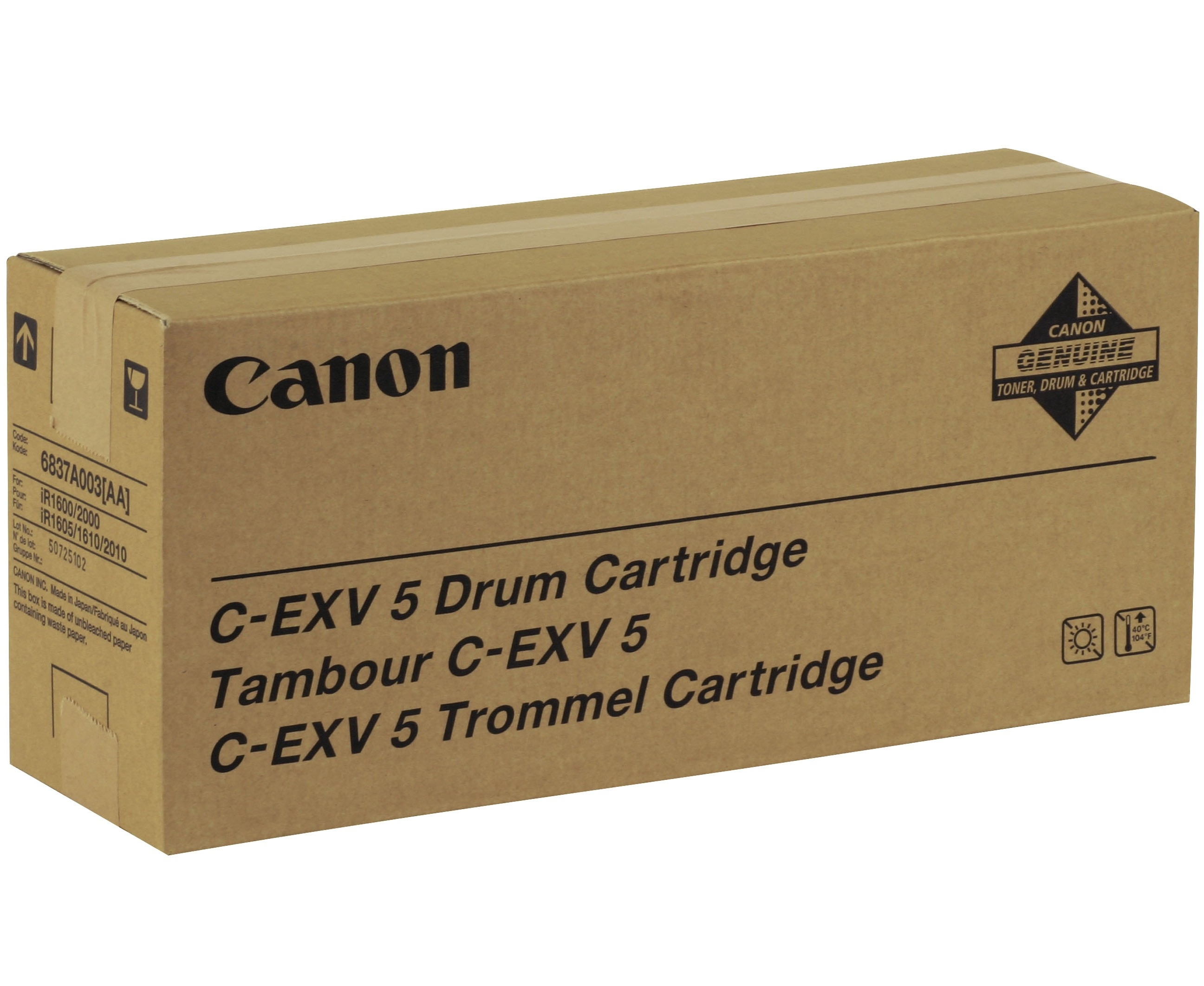 Canon drum unit IR-16xx, 20xx (C-EXV5)