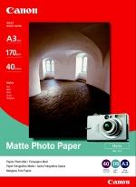 Canon fotopapír MP-101 - A3 - 170g/m2 - 40 listů - matný