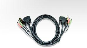 ATEN int.kabel pro KVM USB, DVI, audio, 1.8m pro CS1764