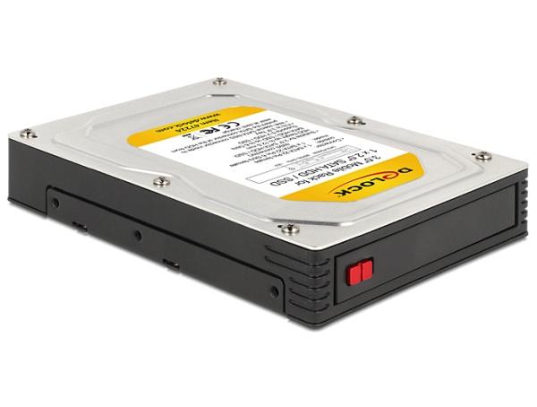 """Delock 3,5"""" výměnný rámeček pro 1 x 2.5"""" SATA HDD / SSD"""