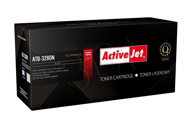 ActiveJet Toner Brother TN-3280 Supreme NEW 100% - 8000 stran ATB-3280N