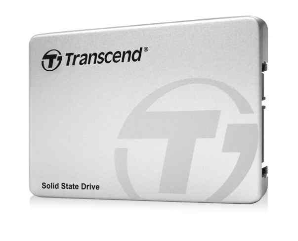 TRANSCEND SSD220S 480GB SSD disk 2.5'' SATA III 6Gb/s, TLC, Aluminium casing, stříbrný