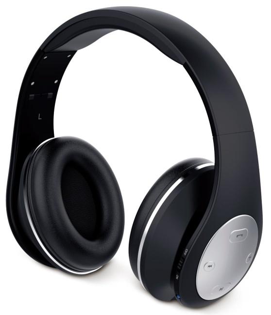 GENIUS headset - HS-935BT/sluchátka s mikrofonem/ Bluetooth 4.1/ dobíjecí/ černé