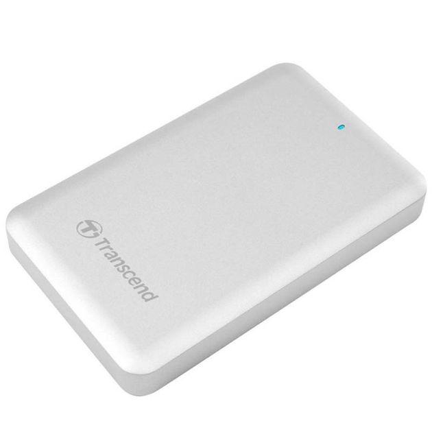 Transcend StoreJet 500, 1TB, USB 3.0 + Thunderbolt pro APPLE, External Solid State Drive, stříbrný