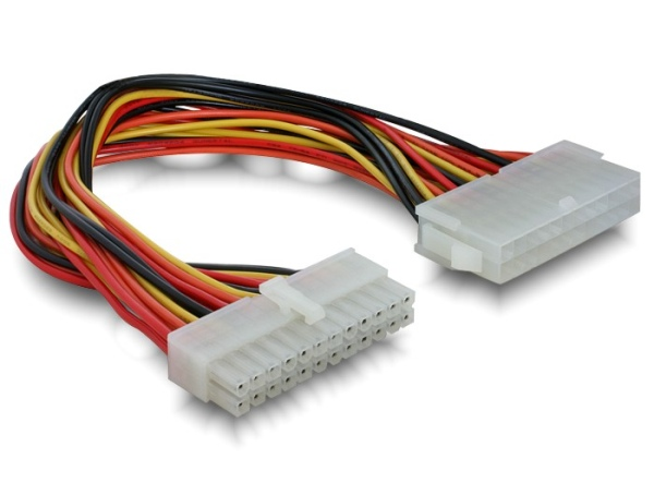 Delock Prodlužovací kabel základní desky ATX 24-pin
