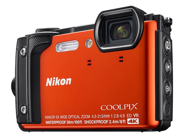 NIKON COOLPIX W300 - 16 MP, 5x zoom - Orange