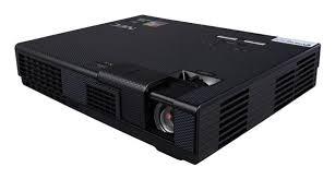 NEC L102W mobilní projektor, 1000lm, LED WXGA, 1.2kg, 20,000h usage, 4000:1 contrast, 3D projection with DLP link