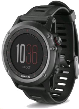 Garmin Fenix 3 Gray, bez TOPO map