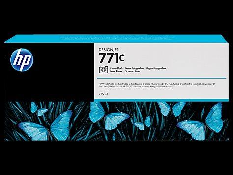 HP B6Y13A No. 771C Black Photo Ink Cart pro DJ Z6200/Z6600/Z6800, 775 ml