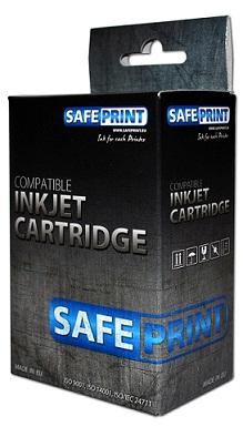 SAFEPRINT inkoust Brother LC-980BK XL/LC-1100BK XL | Black | 17ml