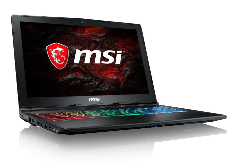 """MSI GP62M 7REX-1892CZ Leopard Pro /i7-7700HQ Kabylake/16GB/1x128GB SSD + 1TB HDD/GTX1050 Ti, 4GB/15.6"""" FHD IPS/Win10"""