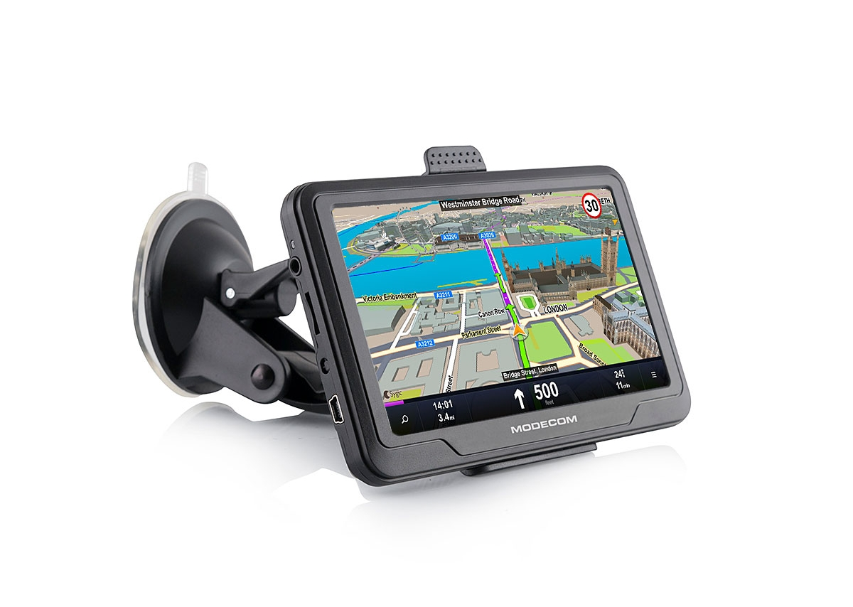 "Modecom FreeWAY SX2 HD GPS navigace, Europe LIFETIME mapy, 5"" displej"