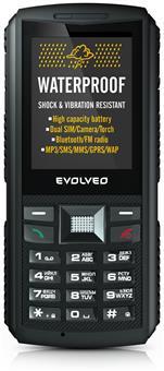 EVOLVEO StrongPhone X1, vodotěsný odolný Dual SIM