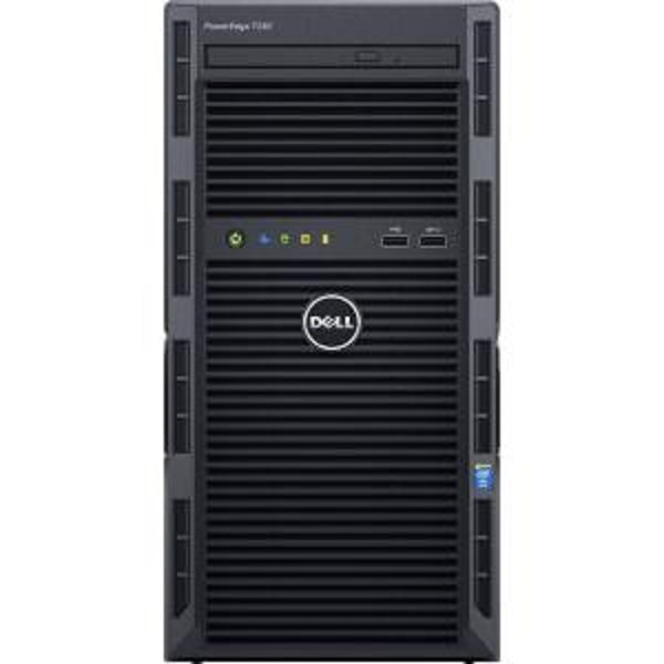DELL PE T130 E3-1230 v6 8GB 2x1TB DVDRW H330 iDRAC8 Bas 3Yr NBD
