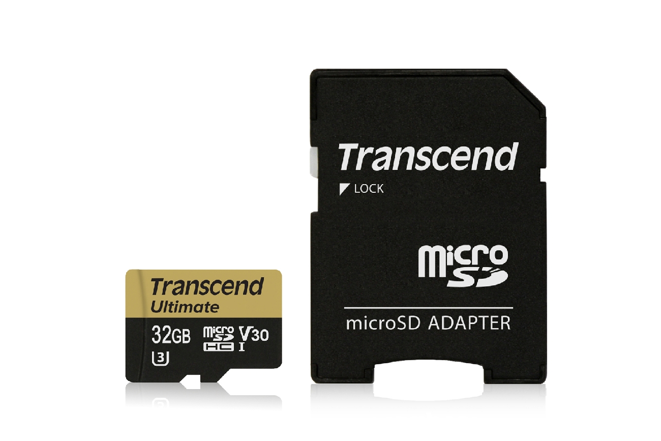 TRANSCEND Micro SDHC UHS-I U3M Ultimate 32GB + adapter, MLC
