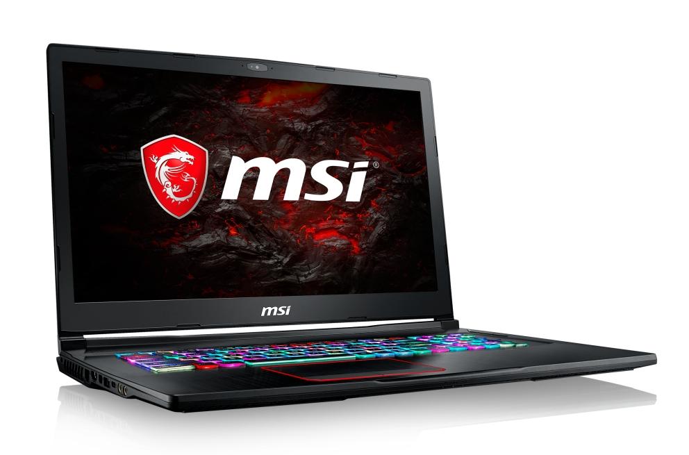 "MSI GE73VR 7RF-014CZ Raider/i7-7700HQ Kabylake/16GB/1x 256 SSD + 1TB HDD/ GTX 1070 8GB/17,3""FHD 120Hz/Win10"