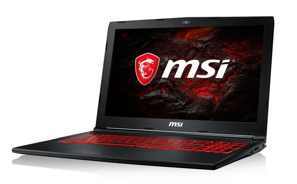 """MSI GL62M 7REX-1824CZ /i7-7700HQ Kabylake/16GB/256GB SSD + 1TB HDD/GTX1050 Ti, 4GB/15.6"""" FHD IPS/Win10"""
