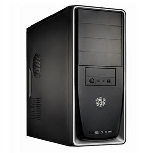 CoolerMaster case Elite 310,ATX,black-silver ,bez zdroje