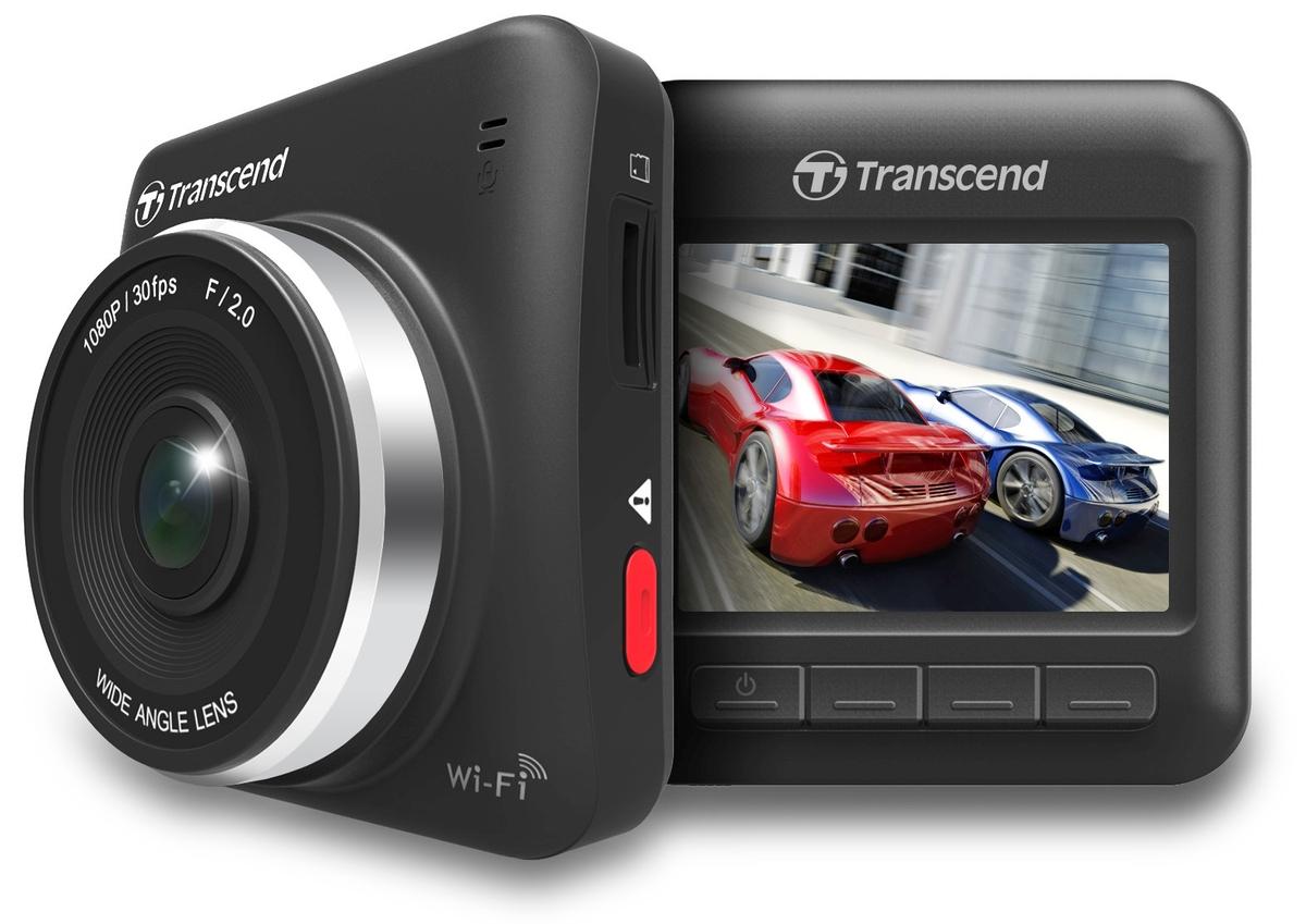"""TRANSCEND digitální kamera do auta DP200, 16G DrivePro, 2.4"""" LCD, WiFi"""