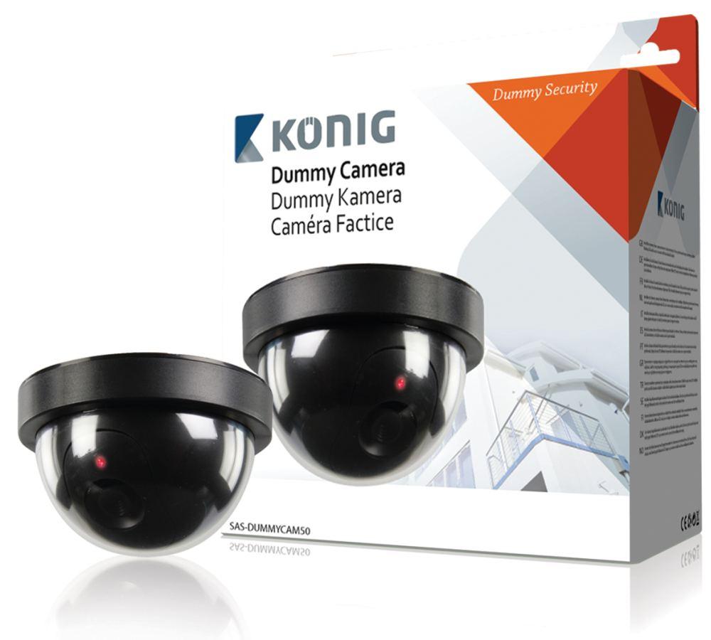 König atrapa interiérové kopulovité kamery