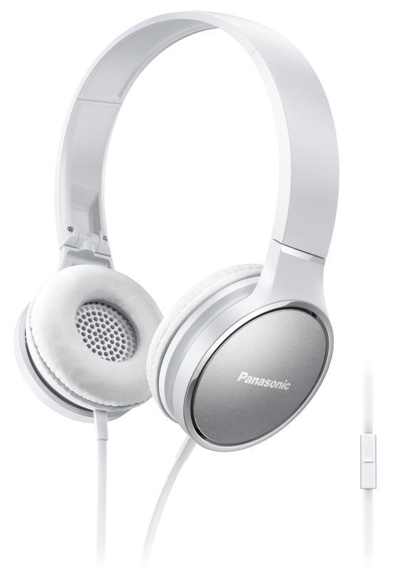 Panasonic RP-HF300ME-W, mikrofon, bílá