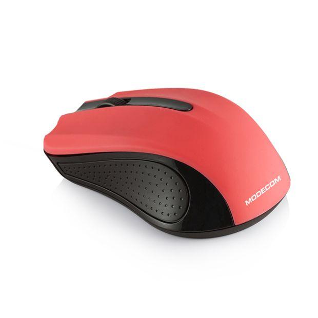 MODECOM Optická bezdrátová myš MC-WM9, červená