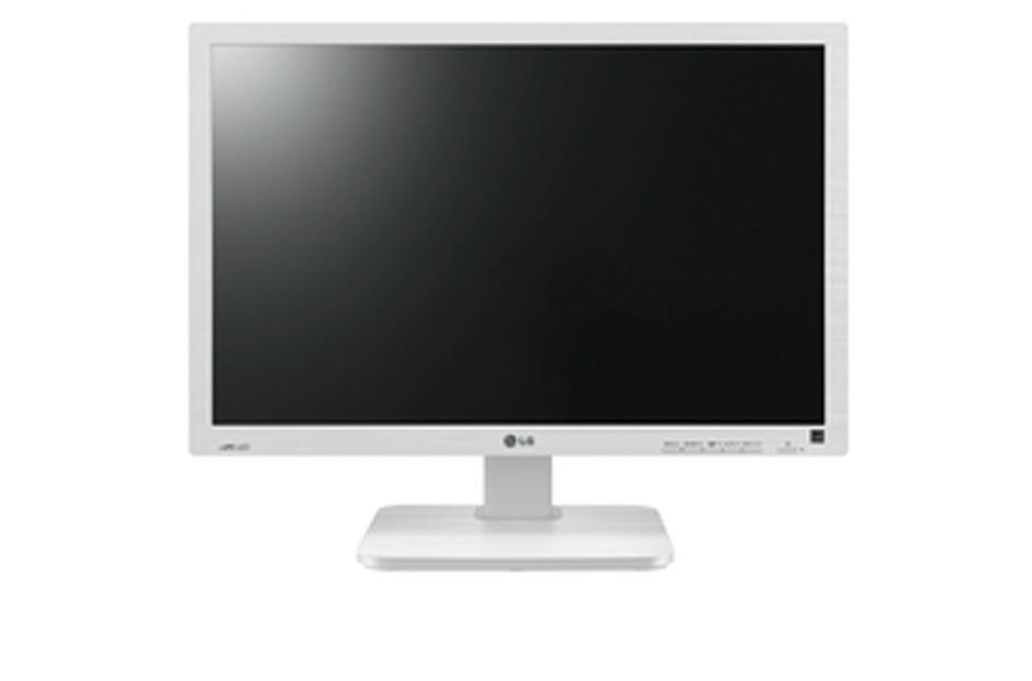 "24"" LG LED 24BK55WD-W - Full HD, IPS, DVI-D, USB, repro, bílá"