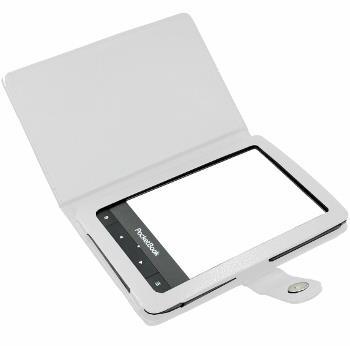 C-TECH pouzdro Pocketbook 622/623/624/626, bílé