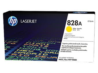 HP 828A Yellow LaserJet Imaging Drum, CF364A
