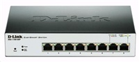 D-Link DGS-1100-08P PoE EasySmart 10/100/1000