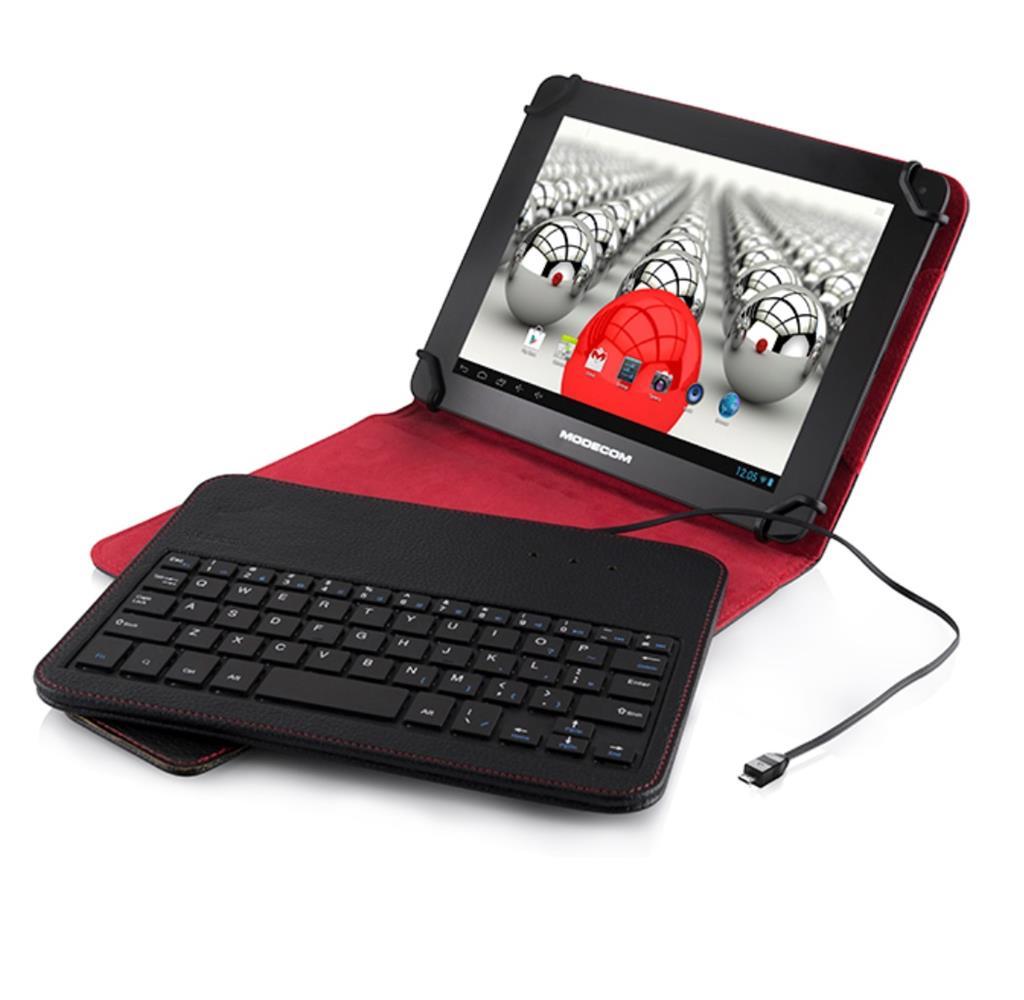 """Modecom klávesnice pro tablety MC-TKC08¨, 7""""-8"""" , černá, s obalem"""