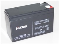 Baterie - FUKAWA FW 7,2-12 F1 (12V/7,2 Ah - Faston 187) SLA baterie