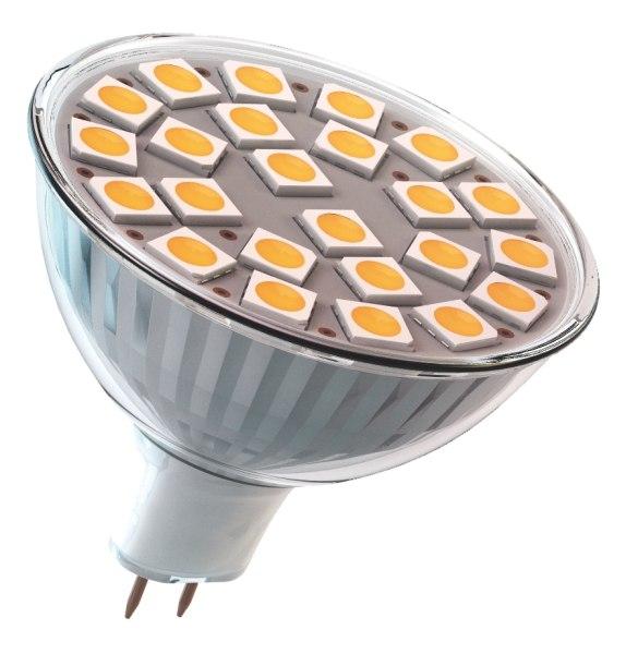 Emos LED žárovka MR16, 4W/30W GU5.3, DL denní bílá, 330 lm, Classic A+