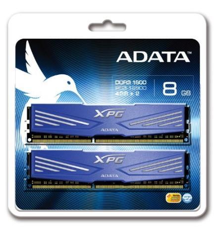 ADATA XPG V1.0 2x4GB 1600MHz DDR3 CL11 Radiator, chladič