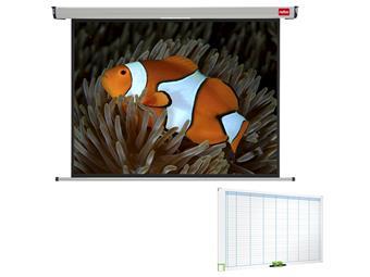Nástěnné projekční plátno NOBO, 150x114cm (4:3)