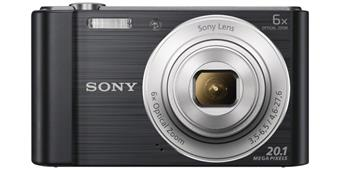"SONY DSC-W810B 20,1 MP, 6x zoom, 2,7 "" LCD - BLACK"