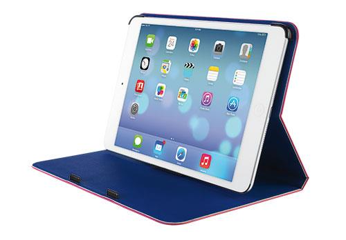 TRUST Pouzdro na tablet Aeroo Ultrathin Folio Stand for iPad mini - modrá/růžová