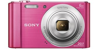 "SONY DSC-W810P 20,1 MP, 6x zoom, 2,7 "" LCD - PINK"