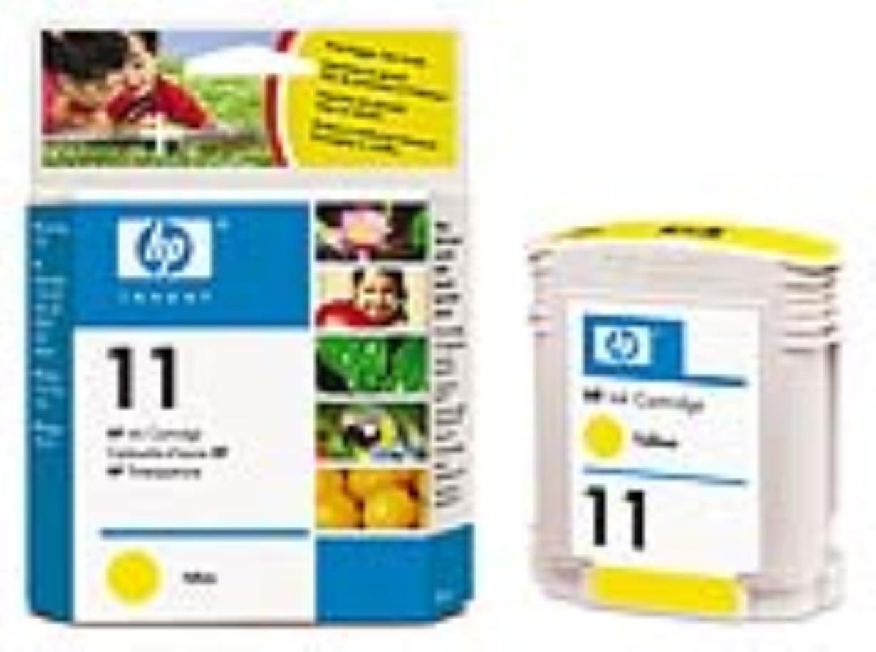 Inkoust HP 11 yellow | 28ml | cp1700,bij22XX,bij2600