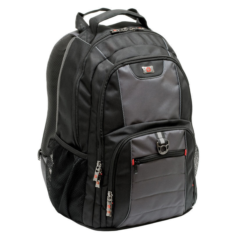"WENGER batoh na notebook Wenger Pillar Computer Backpack 15.6/16"" Black"