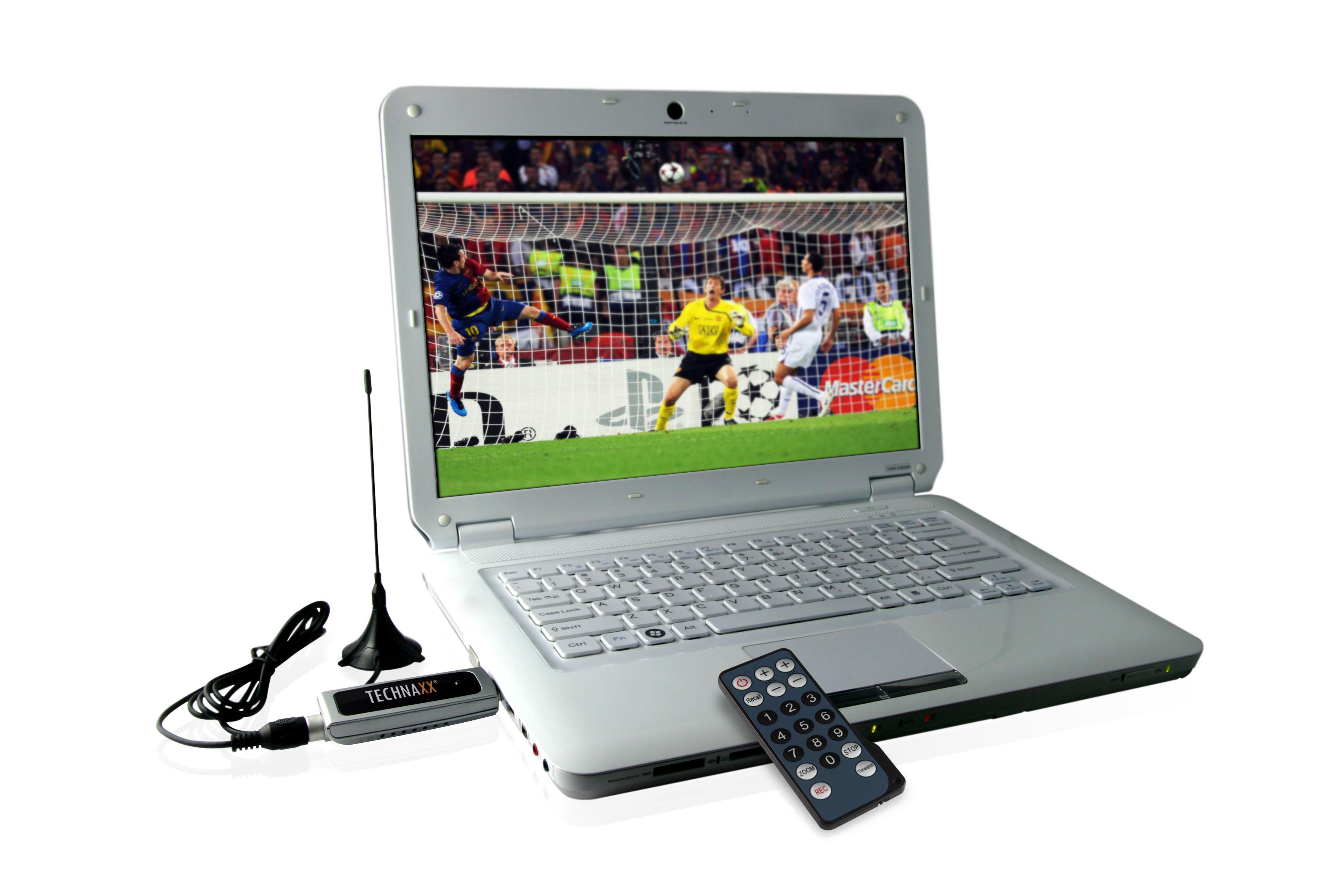 Technaxx USB tuner DVB S4 - DVB-T, HDTV, MPEG2/4