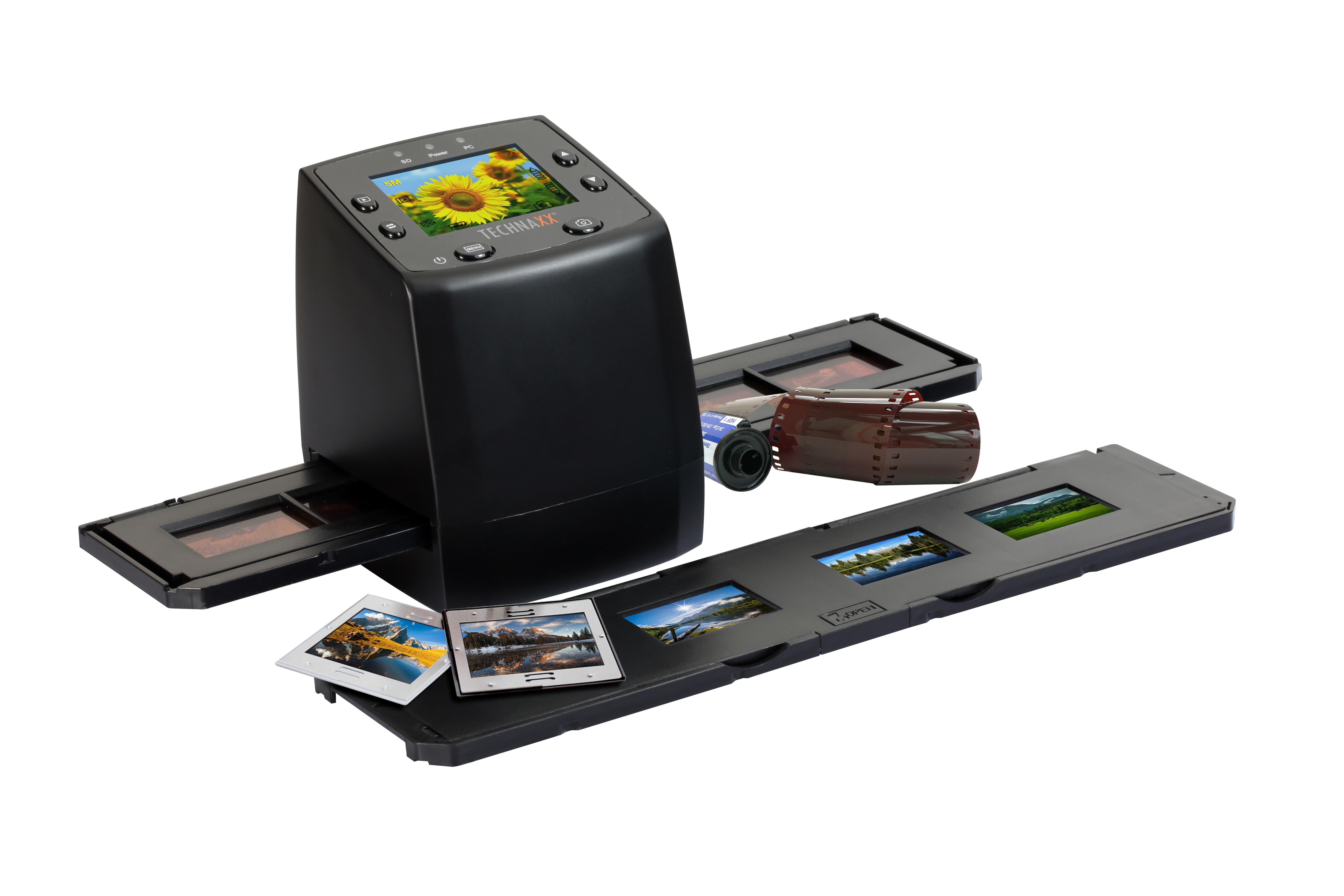 Technaxx DigiScan - skener negativů a diapozitivů
