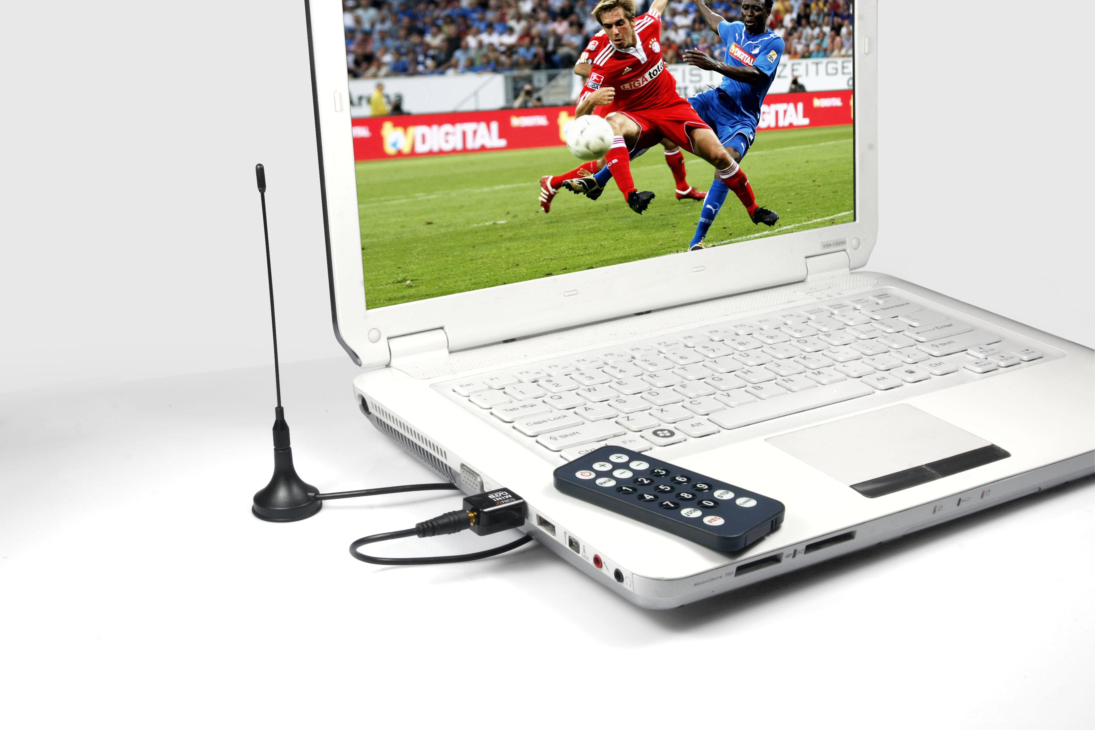 Technaxx USB tuner DVB S6 - DVB-T, HDTV, MPEG2/4