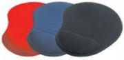 PremiumCord Podložka pod myš gelová černá