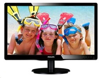 "Philips MT LED 21,5"" 226V4LAB/00 - 1920x1080, 10mil:1, 250cd/m2, 5ms, D-Sub, DVI-D, repro, černá, posk obal"