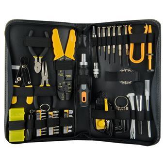 4W Sada nástrojů pro opravu PC EXPERT,62 elementů
