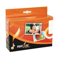 PRINTLINE Ink pro Canon Pixma iP7250, B+C+M+Y, 1x 22ml + 4x 11 ml (CLI-551XL C,M,Y,BK + PGI-550XLBK)